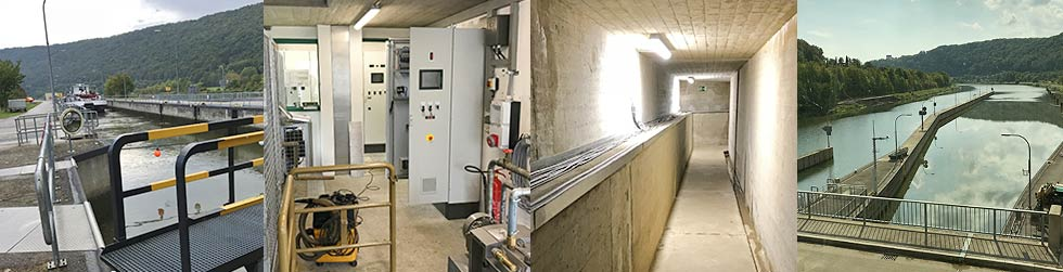 Prüfung ortsfeste Schleusen & Anlagen & Maschinen