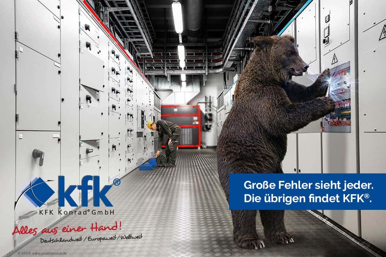 KFK KONRAD® GMBH Prüfservice – Elektrische Sicherheitsprüfungen gem. DGUV V3